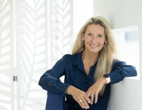 Karin Hackstock erzählt über die Gründung der Babysitterei