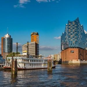 Aufnahme von derElbphilharmonie Hamburg
