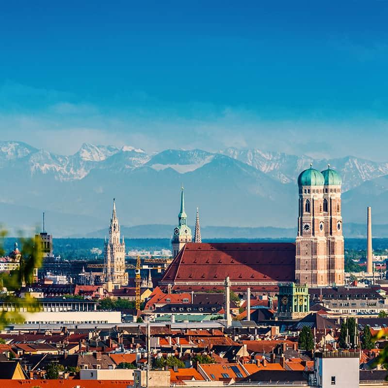 Aufnahme von München